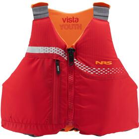 NRS Vista PFD Dzieci, czerwony